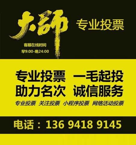 天津微信投票公司案例展示
